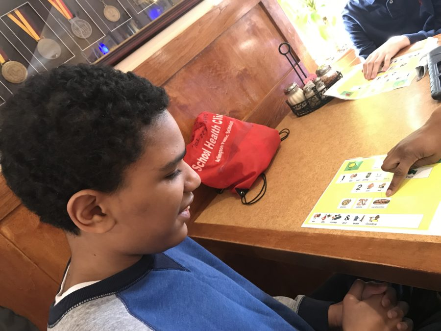 CBI - Ordering from a menu